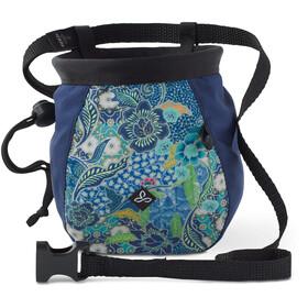 Prana Chalk Bag - Sac à magnésie - Large with Belt bleu